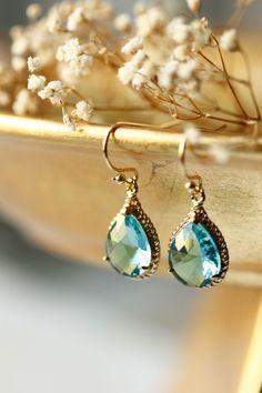Ocean Wave Earrings - ALANGOO - $33