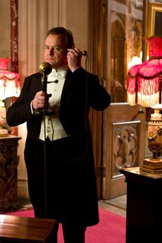Downton Abbey - My favorite character. :)