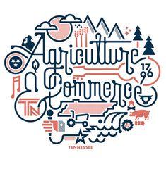 #typography #illustration