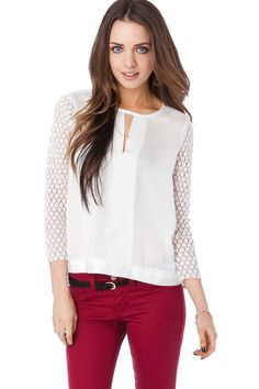 ShopSosie Style : Louise Blouse