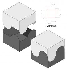 x-gami Box packaging die cut template design. mock-up Premium Vector Youth Heroes – A Double Stan Diy Gift Box, Diy Box, Gift Boxes, Paper Box Template, Box Templates, Origami Templates, Box Patterns, Paper Crafts Origami, Paper Toys
