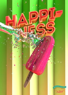 HAPPINESS by Don Zeta, via Behance
