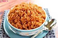 Cook a pot of rice using chicken broth, tomato sauce, and a few seasonings to make this quick and easy Spanish Rice. It's the perfect base for rice bowls or a delicious side dish to your favorite Mexican entrees! Cinco de Mayo is on the horizon, and a quick search of the blog will reveal that you're already set when it comes to appetizers, main dishes, beverages, heck, even breakfasts! Alas, the only Tex-Mex side dish that I've shared as