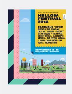 Hellow Festival on Behance
