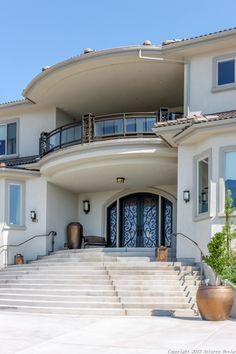 Dynasty Luxury Homes 3 Storey House Design, Bungalow House Design, Modern House Design, Home Design Floor Plans, Home Building Design, Building A House, A Frame House Plans, Modern House Plans, Classic House Exterior