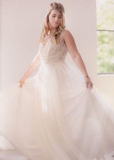 juliette bohemian head piece wedding bride by hattitudejewels
