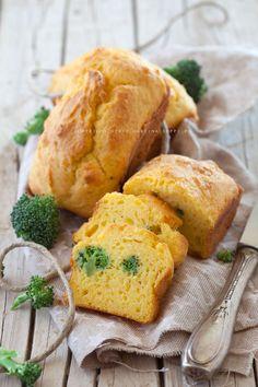 Plumcake salato di ricotta con broccoli
