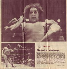 andre the giant!