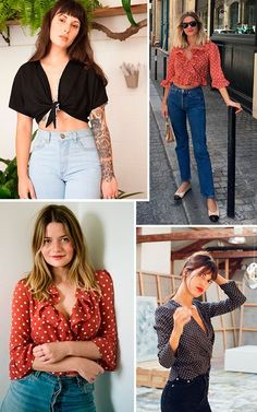 Use o top must have de toda french girl: nós já cansamos de falar dele por aqui, mas o french top , ou a camisa decotada e cropped é super descolada mas sem perder seu ar pra lá de delicado. Nem precisamos dizer que já está em nossa wish-list.