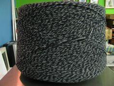 3/15 Acrylic Cone Yarn Navy, Gray  Marl, Sport Weight Acrylic Yarn, Ragg Yarn, Marl Yarn, Knitting Yarn, Crochet Yarn, Weaving Yarn REDUCED by stephaniesyarn on Etsy