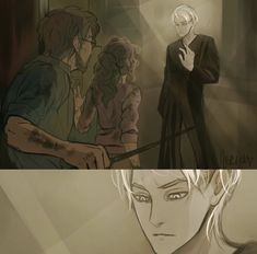 Harry Potter Comics, Harry Potter Stories, Draco Harry Potter, Harry Potter Style, Harry Potter Ships, Harry James Potter, Harry Potter Anime, Harry Potter Pictures, Draco And Hermione Fanfiction