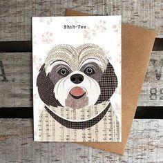 'Shih Tzu' Card