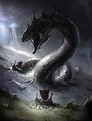 Jörmungandr - The Midgard Serpent, child of Loki