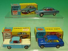 corgi cars Corgi Husky, Corgi Toys, Diecast Models, Toy Boxes, Back In The Day, James Bond, Hot Wheels, Jr, 1960s