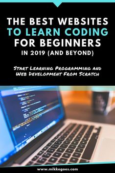 Looking for the best websites to learn coding and web development from scratch? Check out these awesome websites for lea Learn Programming, Computer Programming, Computer Coding, Computer Science, Best Coding Websites, Claves Wifi, Learn Coding Online, Coding For Beginners, Importance Of Time Management