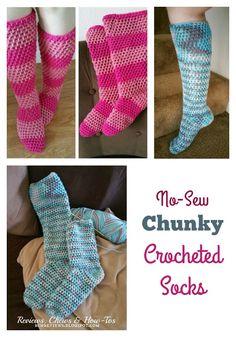 No Sew Chunky Croche