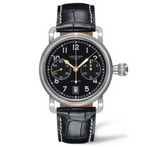 Le mostramos el elegante reloj Longines Avigation Oversize Crown