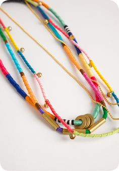 Hand-Knotted Necklace Trio