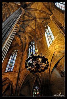 Gothic Style, Catedral Barcelona Catalonia