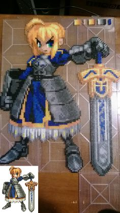 Fate Stay/Night Saber - Finished - Imgur