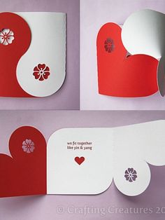 Valentine Heart Card, Gift Box, Chipboard, Balls, and Banner Decorations (SVG, DXF, Studio, PDF Files) | Meylah