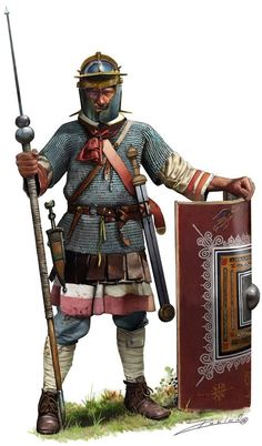 Roman Legionary c.late 2nd Centtury - early 3rd Century