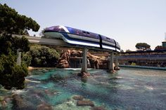 The Mark VII Monorail is a must ride cause it's so futuristic inside. This picture was taken at Disneyland by MrDizneyKing.