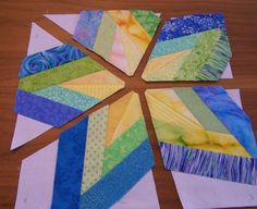 Carmen Rose Prose: Five Point Quilt Star Pattern Tutorial Part Two