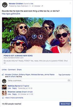 Monster Children FB post