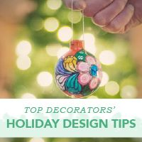 Do things differently this year! Follow simple advice from top designers to spruce up your home with festive and fun holiday decor.