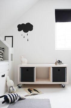 Ideas de decoración con el modelo Expedit de Ikea