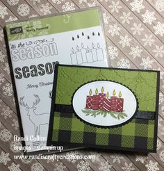 Merry Patterns - free stamp set with qualifying order in October!