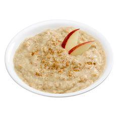 Apple-cinnamon oatmeal #recipe - healthy diet breakfast idea!