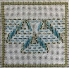 Kathrin's Blog: Swedish Weaving - Guardian Angel
