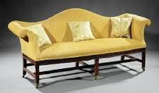 Image result for pics of humpback sofa done is two separate fabrics