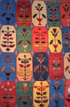 Zolananvari Balouch, One Of A Kind, Flatweave And Pile Wool Rug