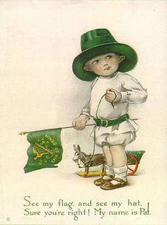 Vintage st. Patricks day postcards | Tradiciones y Simbología del día de San Patricio | La Casa ...