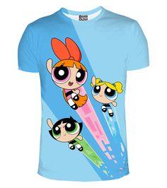 Powerpuff Girls t-shirt, Mr. GUGU & Miss GO