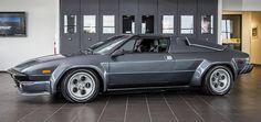 Lamborghini Jalpa in a beautiful grey.