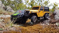 Orlandoo Hunter OH35A01 Micro RC Jeep Wrangler & Ford F159 1/35 #rc #orlandoo #orlandoohunter #oh35a01 #jeep #wrangler #microrc #ford #f150 #oh35p01