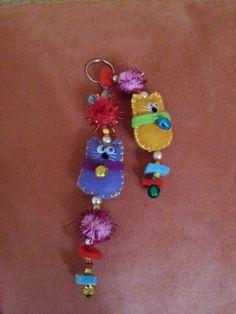 Schlüsselanhänger filz Drop Earrings, Jewelry, Fashion, Felting, Moda, Jewels, Fashion Styles, Schmuck, Drop Earring