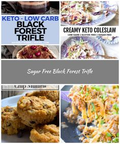 Are you looking for that perfect keto dessert for a celebration? This black forest trifle is perfect for Christmas lunch or any celebration. low carb diet Sugar Free Black Forest Trifle
