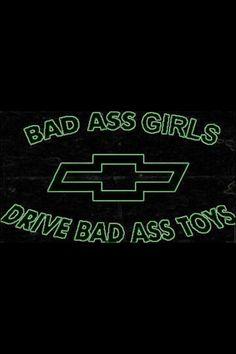 Definitely a Chevy girl <3