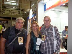 Francisco Muller, Marta Lobo e Miguel Luiz Medeiros
