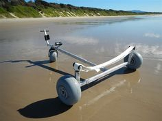 inflatable boat dolly for sand - Bing images Beach Trailer, Bike Trailer, Canoe Carrier, Beach Cart, Handyman Projects, Funky Decor, Inflatable Kayak, Boat Stuff, Dinghy