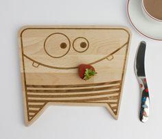 Tolle Frühstücksbrettchen für die Kids.  Von Julica Design. www.stylewerk.ch