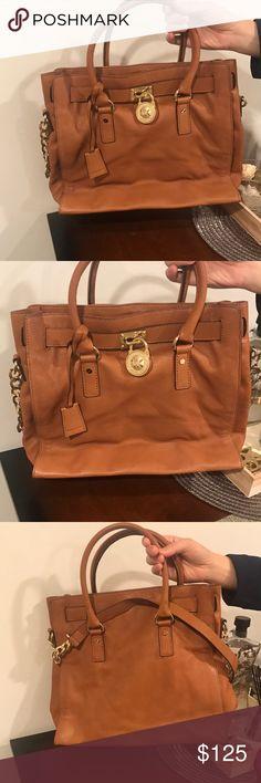 Michael Kors Handbag Michael Kors Hamilton Bag, lightly used Michael Kors Bags Shoulder Bags