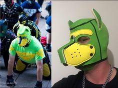 Mr S Leather Custom Neoprene Hoods Puppy Play, Kermit, Puppys, Zine, Animals And Pets, Latex, Hoods, Wolf, Gay