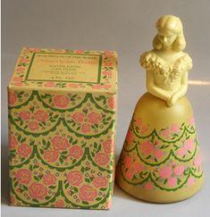 lovely avon american belle cologne bottle
