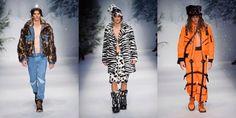 Moschino otoño-invierno 2015, ¿Ropa para llevar? #Moschino #otoño #invierno #ropa #moda #fashion